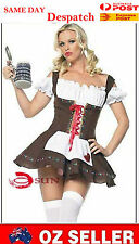 NEW Sexy Costumes Women French Maid Halloween Fancy Dress Servant Outfit