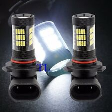 9005-HB3 Samsung LED 57 SMD White 6000K Headlight Light Bulbs #Ta5 High Beam