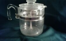 VINTAGE COMPLETE PYREX Large 7759 B - 9 CUP GLASS COFFEE MAKER POT PERCOLATOR