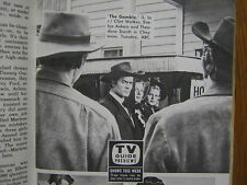 1958 TV Guide(CLINT  WALKER/THE McGUIRE  SISTERS/MARVIN MILLER/YOU BET YOUR LIFE