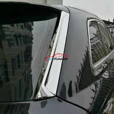 Rear Windscreen Windshield Tail Spoiler Wing Cover Trim For Audi Q7 4M 2016 2017