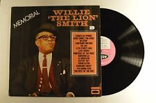 "willie ""the lion"" smith lp memorial  vjd 501/1   vg+/m- red v.  uk imp"