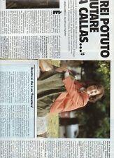 SP18 Clipping-Ritaglio 1990 Raina Kabaivanska Avrei potuto aiutare la Callas