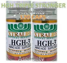 GH Booster plus GH-3 2 Month supply each NO/HGH Free Shipping!