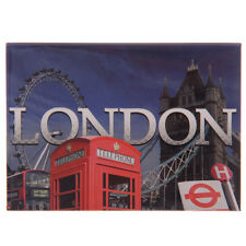 LONDON METAL FRIDGE MAGNET Iconic London Images, Ted Smith Design