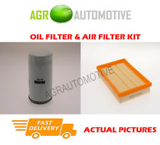PETROL SERVICE KIT OIL AIR FILTER FOR FORD PUMA 1.6 103 BHP 2000-02