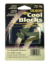 Olson Genuine Cool Blocks CB50030 fit Shopsmith Band Saws