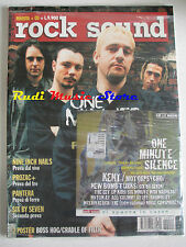 rivista ROCK SOUND 24/2000 +CD One Minute Silence POSTER Boss Hog Cradle Of Filt