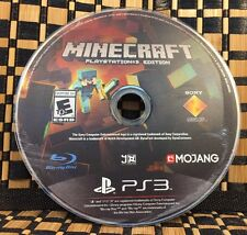 Minecraft PS3 Edition (Sony PlayStation 3) USED (NO CASE) #10638