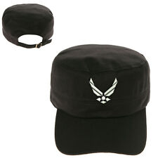 U.S AIR FORCE WING MILITARY CADET ARMY CAP HAT HUNTER CASTRO