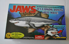 JAWS Singing and Dancing BIG MOUTH BILL BASS Motion Activated SHARK w/ Box