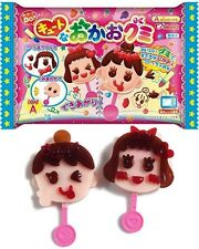Vendeur britannique japonais gommeux visage make your own candy lolly diy kit popin cupcakes
