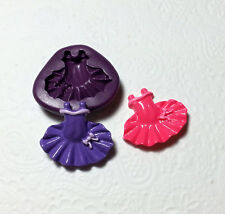 Silicone Mold Ballerina Tutu Dress Mould (29mm) Fondant Sugarcrafts Cake Topper