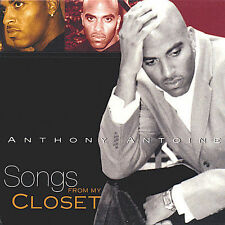 Antoine, Anthony Songs From My Closet CD ***NEW***