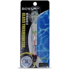 BOYU Submersible Glass Thermometer | BT-01 | Aquarium Accessory