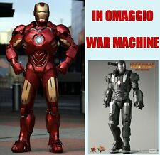 IRON MAN ARMATURA MARK 7+WAR MACHINE COSTUME DA ASSEMBLARE COSPLAY ELMETTO CASCO