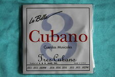 La Bella 730 Silk & Steel Wound Tres Cubano Strings, 6 String Set