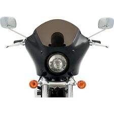 Memphis Shades Gauntlet Fairing Black Smoked Harley Dyna FXR Sportster