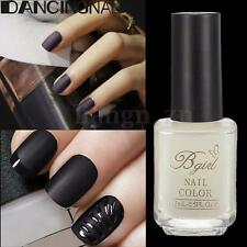 15ML Vernis à ongles Mat Oil Top Coat Super Matte Polish Change Surface Nail Art
