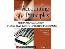 Accounting Principles by Donald E. Kieso, Paul D. Kimmel and Jerry J. Weygand...