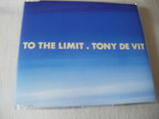 TONY DE VIT - TO THE LIMIT - OLD SKOOL DANCE CD SINGLE
