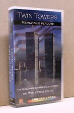 TWIN TOWERS - meraviglie perdute [vhs, cinehollywood, the history channel]