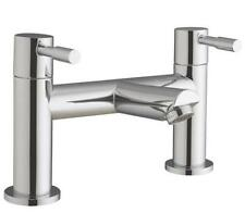 Modern Chrome Bathroom Bath Tub Filler Mixer Tap With Lever Handles Lola 5