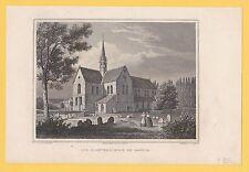 """""""Die Klosterkirche zu Loccum"""" Stst.von J.Umbach nach G.Osterwald bei G.G.Lange"""
