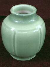 "1948 4.5"" Tall Rookwood Vase # 6098 Green Glossy Finish American Art Pottery"