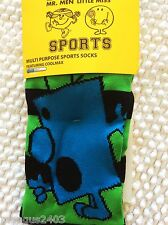 RAGAZZI KNEE HIGH QUALITY SKI SCI CALCIO Welly SPORT Boot SOCKS Mr Men BRONTOLONE