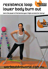 Barre Style EXERCISE DVD - RESISTANCE LOOP LOWER BODY LEAN OUT!