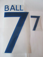 Ball no 7 England Home Football Shirt Name Set Adult Sporting ID