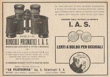 Z1419 I.A.S. LA FILOTECNICA Ing. Salmoiraghi - Pubblicità d'epoca - 1928 Ad