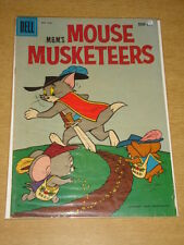 MOUSE MUSKETEERS #15 VG (4.0) TOM AND JERRY MGM DELL COMICS NOVEMBER 1958 (B)