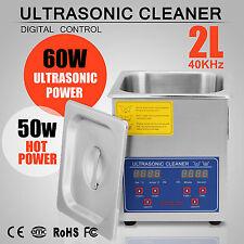 2L Ultraschall Gerät Reiniger Ultraschallreinigungsgerät Ultraschallreiniger EU