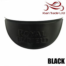 "ROYAL ENFIELD BLACK HEADLIGHT LAMP SHADE VISOR 7"" - BRAND NEW"