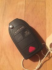 Used Volvo S40 / V40 Flip Remote Key Fob - Genuine Part