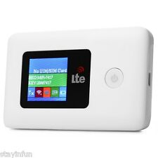 Portable Mobile 4G LTE FDD Wireless Router WiFi 802.11 b/g/n Hotspot 150Mbps New