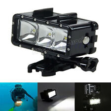 Waterproof 30M Diving LED Light For GoPro Hero 3 SJCAM SJ4000 Xiaomi Yi Camera