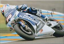 In Person Randy De Puniet Autograph ASPAR APRILIA SIGNED 12x8 Photo MOTOGP AFTAL