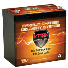 12V VMAX SLR155 155AH AGM SLA Deep Cycle Battery Replaces US Battery Group GC12
