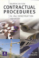 Contractual Procedures in the Construction Industry by Allan Ashworth (Paperbac…