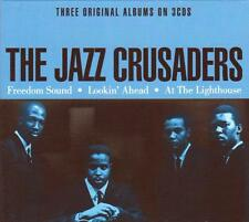 THE JAZZ CRUSADERS - THREE ORIGINAL ALBUMS (NEW SEALED 3CD)