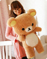 55cm Stuffed Kawaii San-x Rilakkuma Relax Bear Soft Pillow Plush Toy Doll Gift
