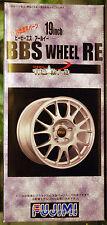 Felgen BBS RE 19 Zoll inkl. Reifen, 1:24, Fujimi 192840