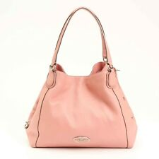 AUTHENTIC COACH LEATHER SHOULDER BAG PINK GRADE B USED-AT