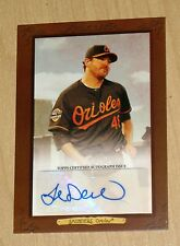 2013 Topps Turkey Red online AUTOGRAPH Joe Saunders BLACK short print SP 1/10