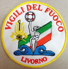 """Toppa/Patch Commemorativa """"VIGILI DEL FUOCO - COMANDO PROVINCIALE DI LIVORNO"""""""