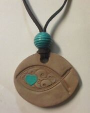 Aromatherapy Terra Cotta Diffuser Necklace by ToHi, essential oil