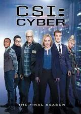 CSI: Cyber: The Final Season 2 (DVD, 2016, 5-Disc Set)